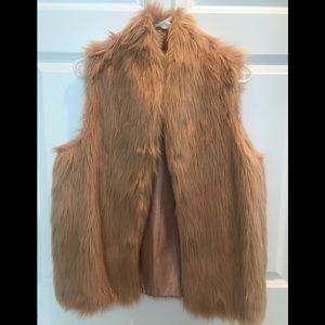 BCBG Generation Fur Vest. Size S